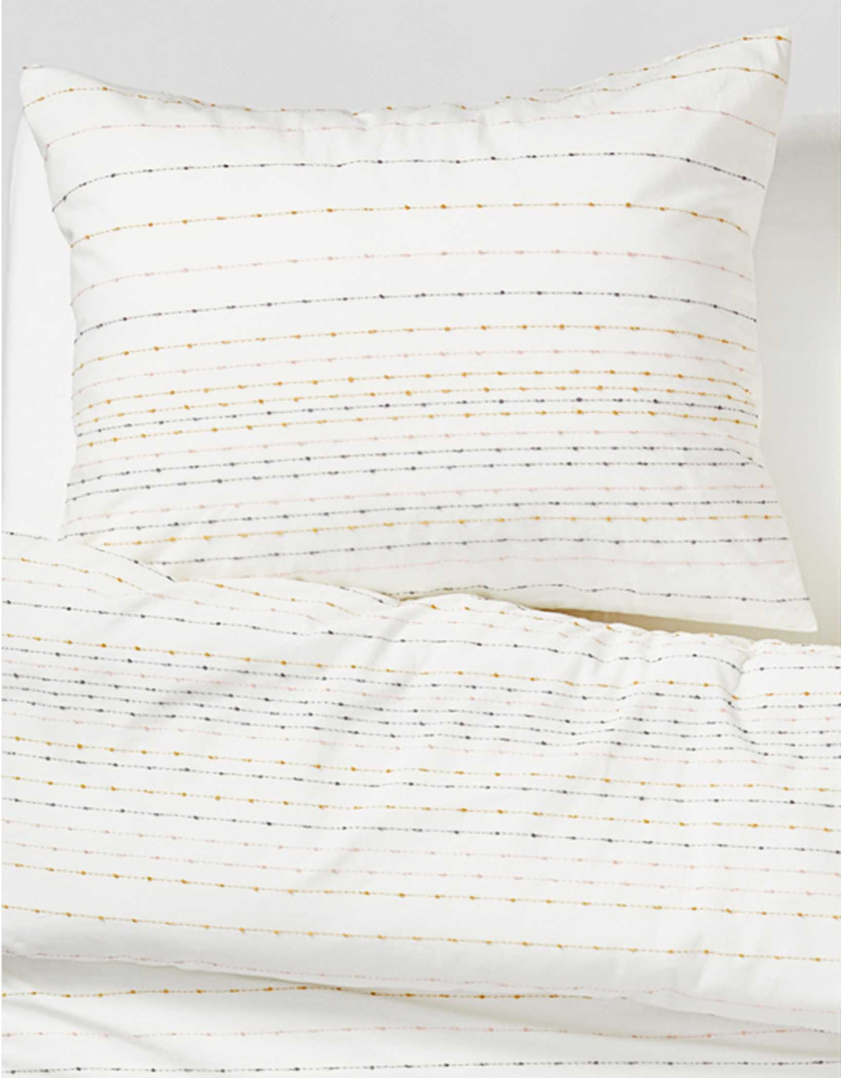 Dormify Embroidered Striped Twin/Twin XL Comforter And Sham Set