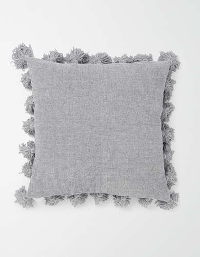 Dormify Chenille Knit Tassel Pillow