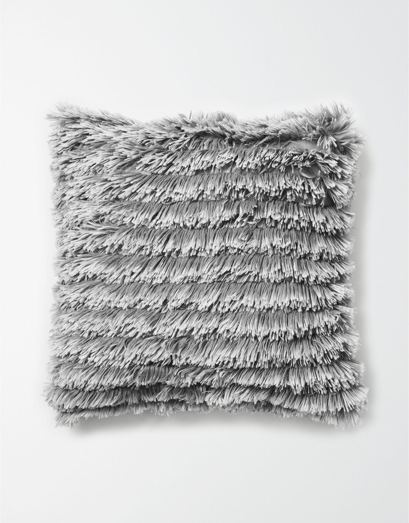 Dormify Ruffled Shag Pillow