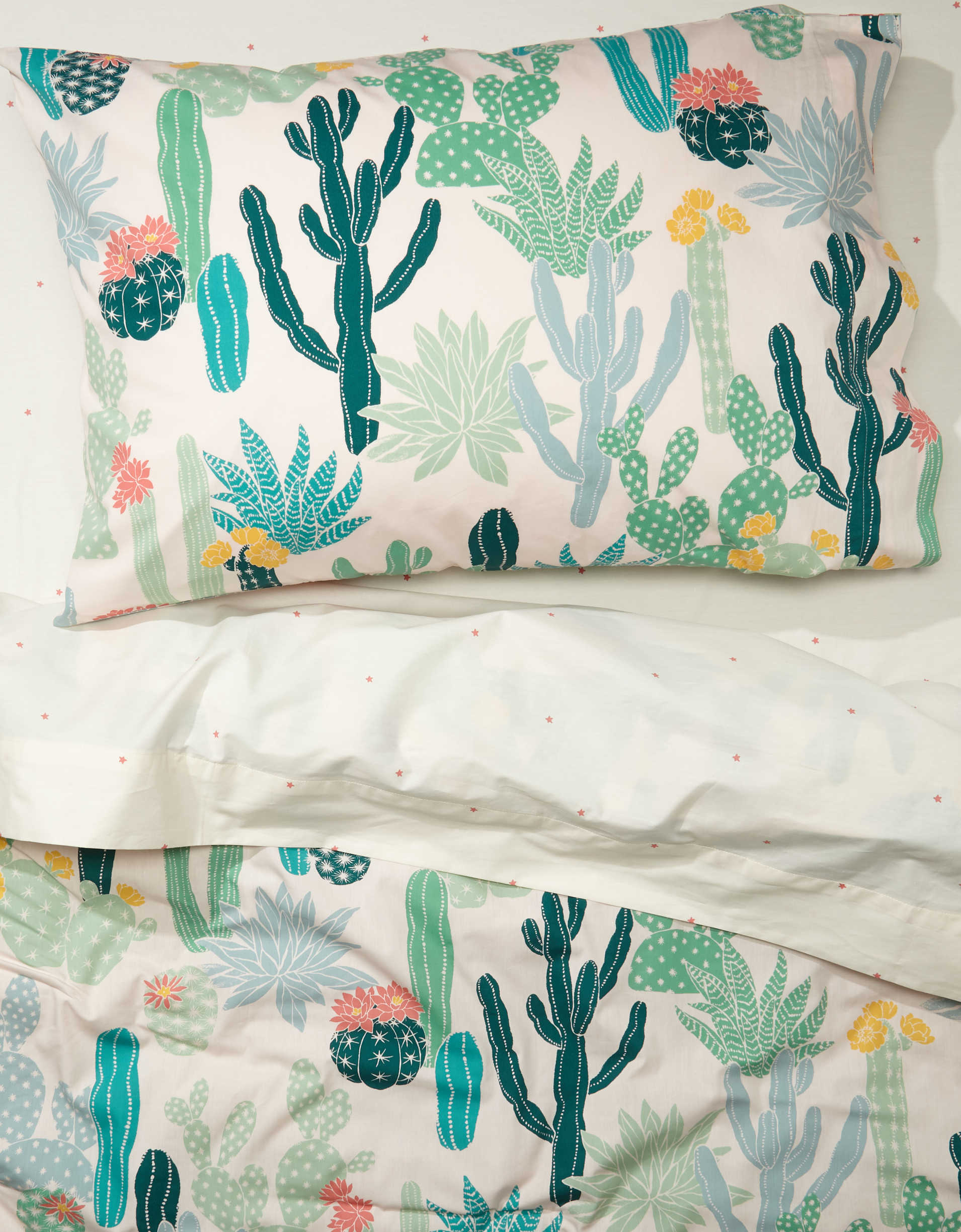 Happy Space Cacti Twin XL Comforter Set