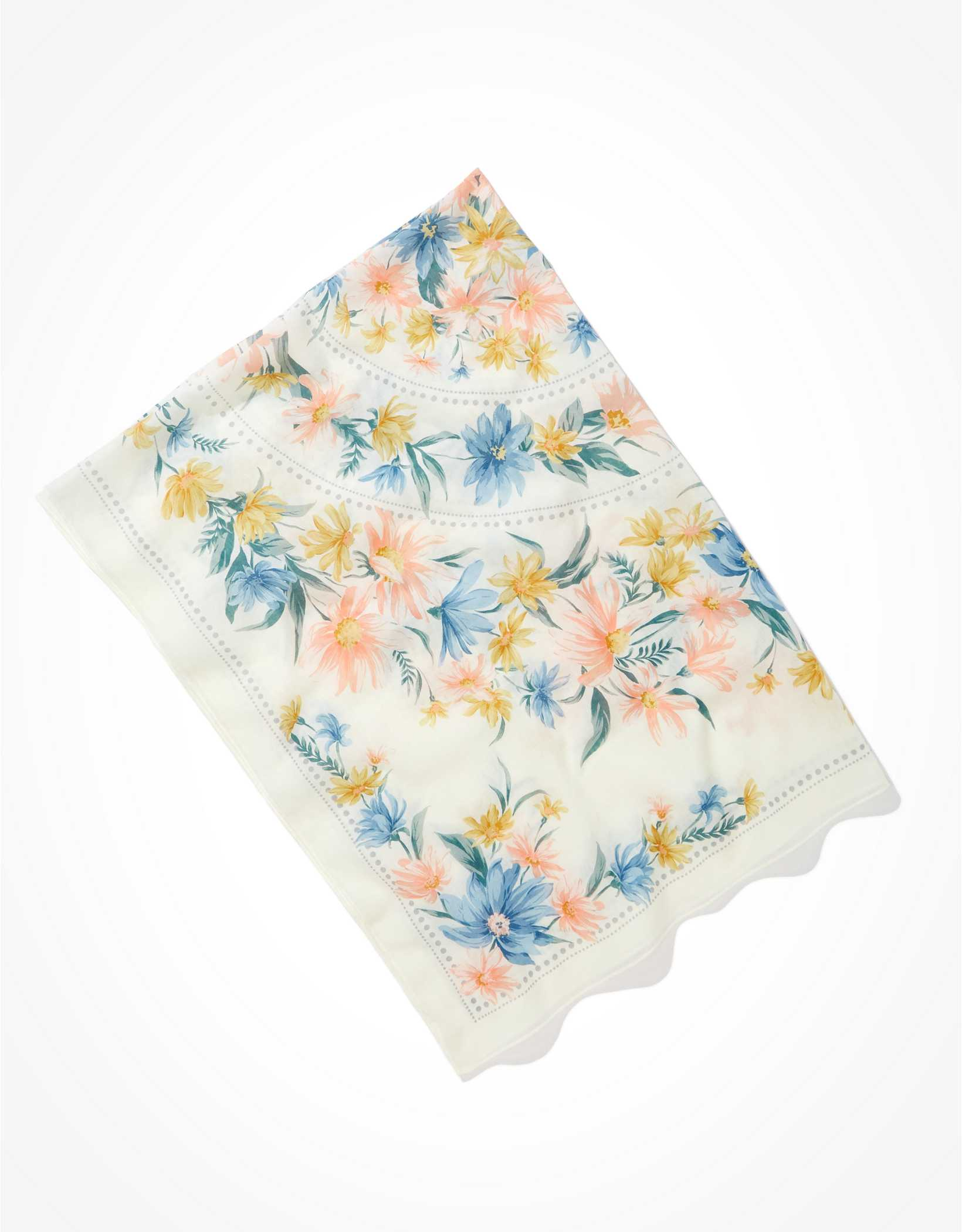 Happy Space Floral Tapestry