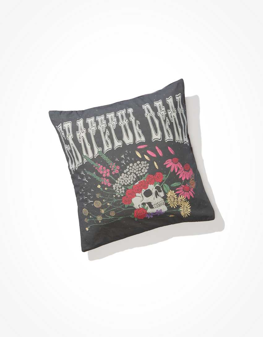 Happy Space Grateful Dead Throw Pillow Case