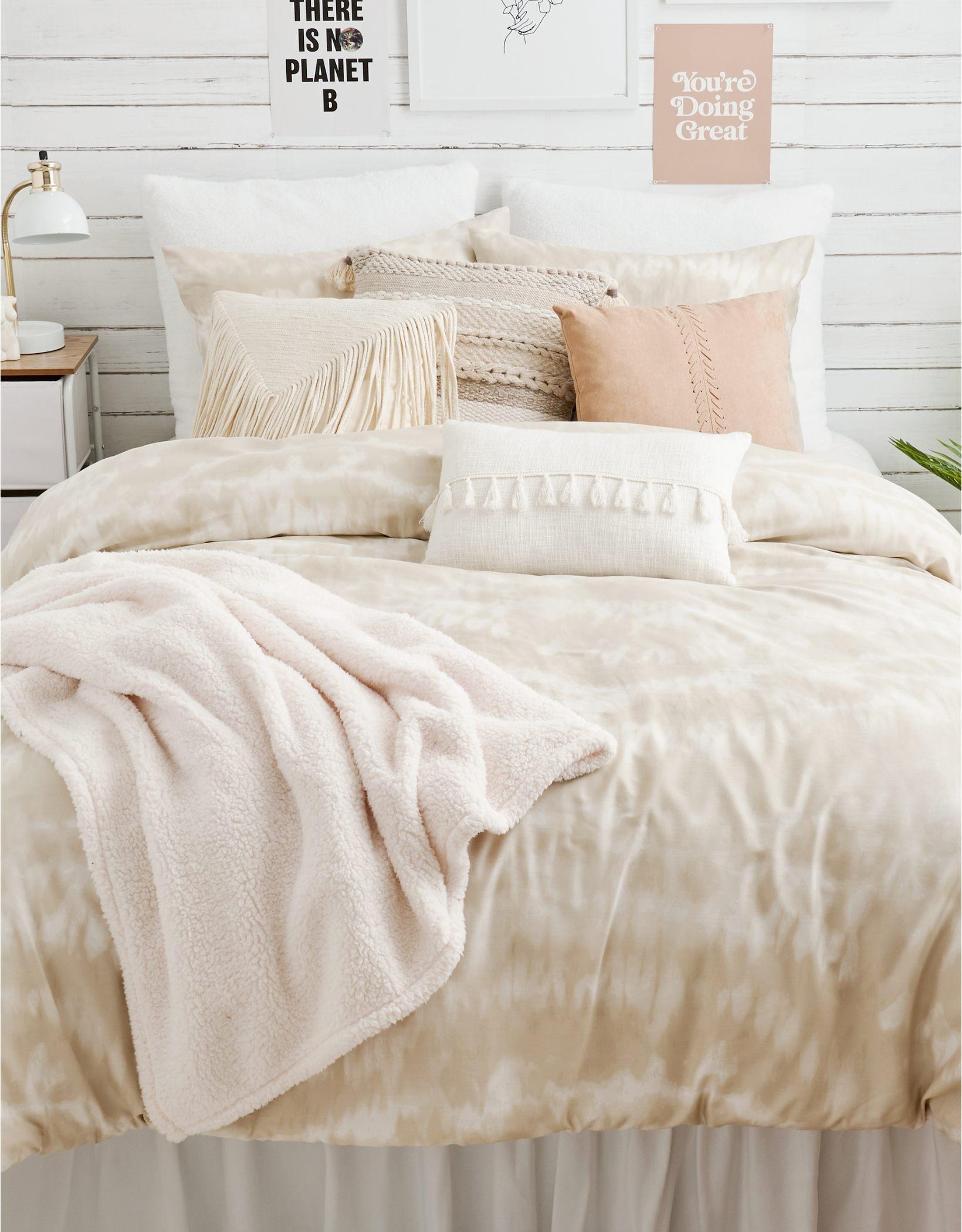Dormify Shibori Queen Comforter & Sham Set