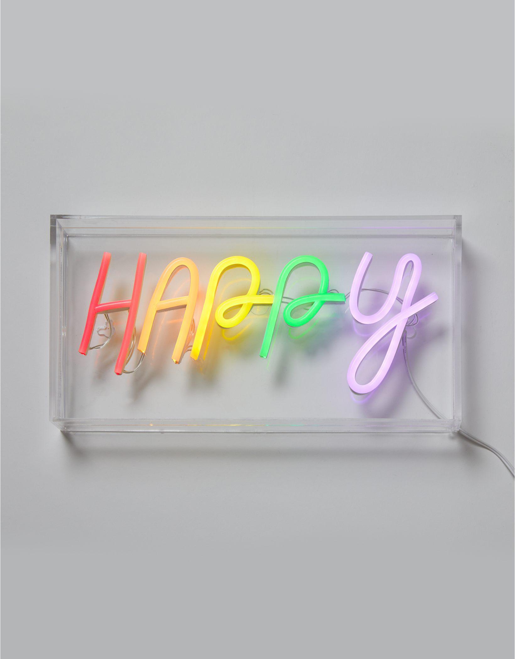 Dormify Happy Neon Sign
