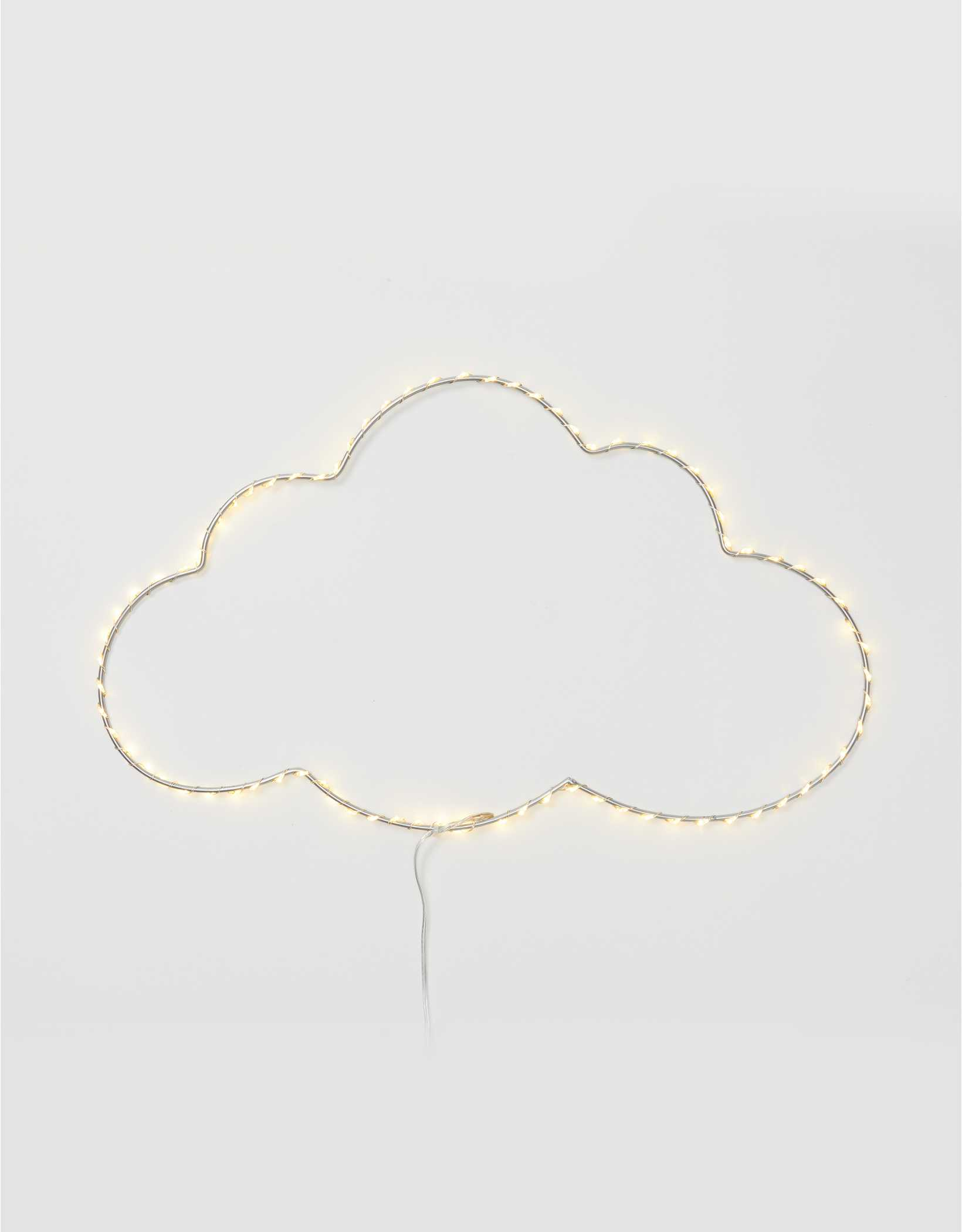 Dormify Wire Wall Light Cloud