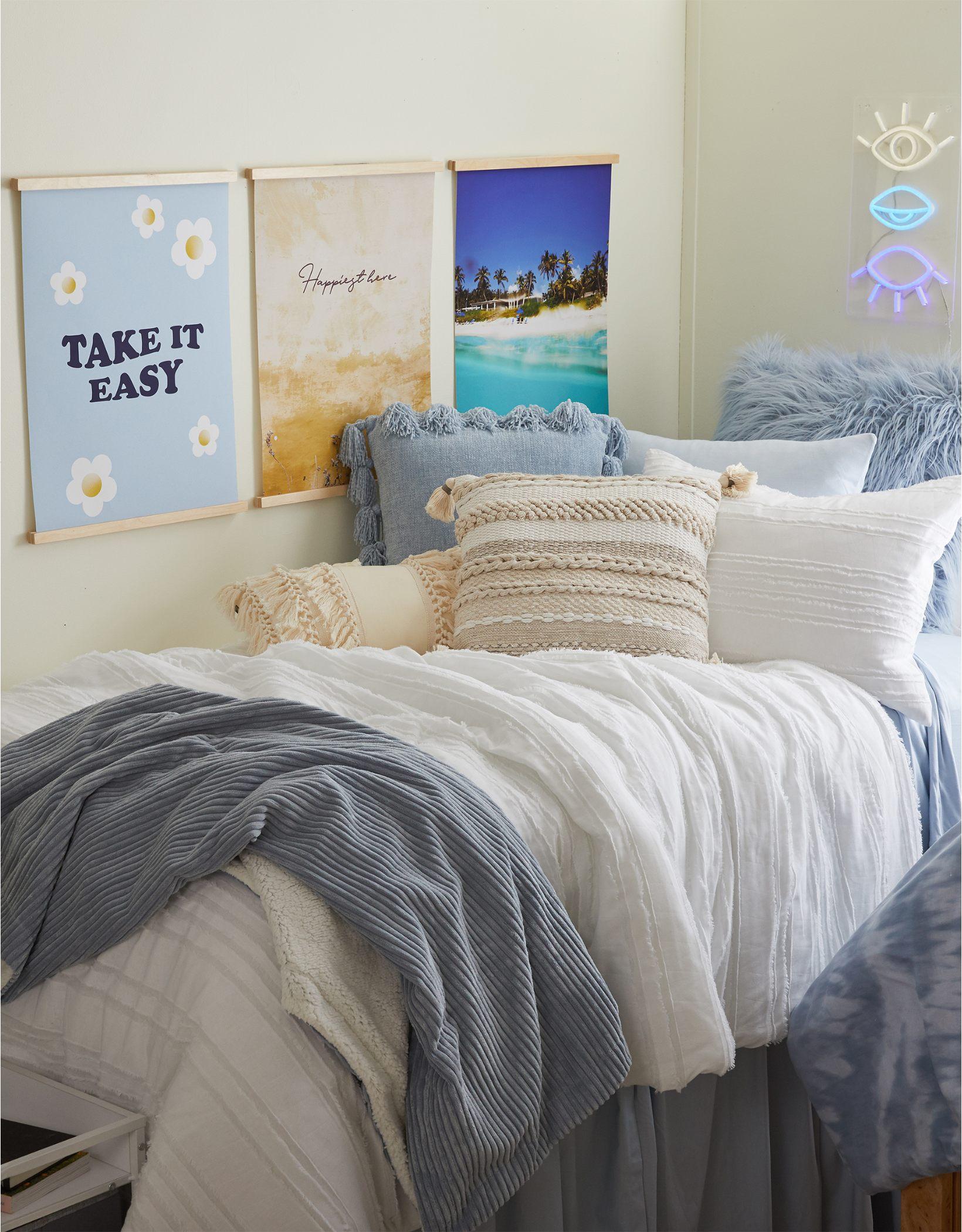 Dormify Braided Boho Pillow