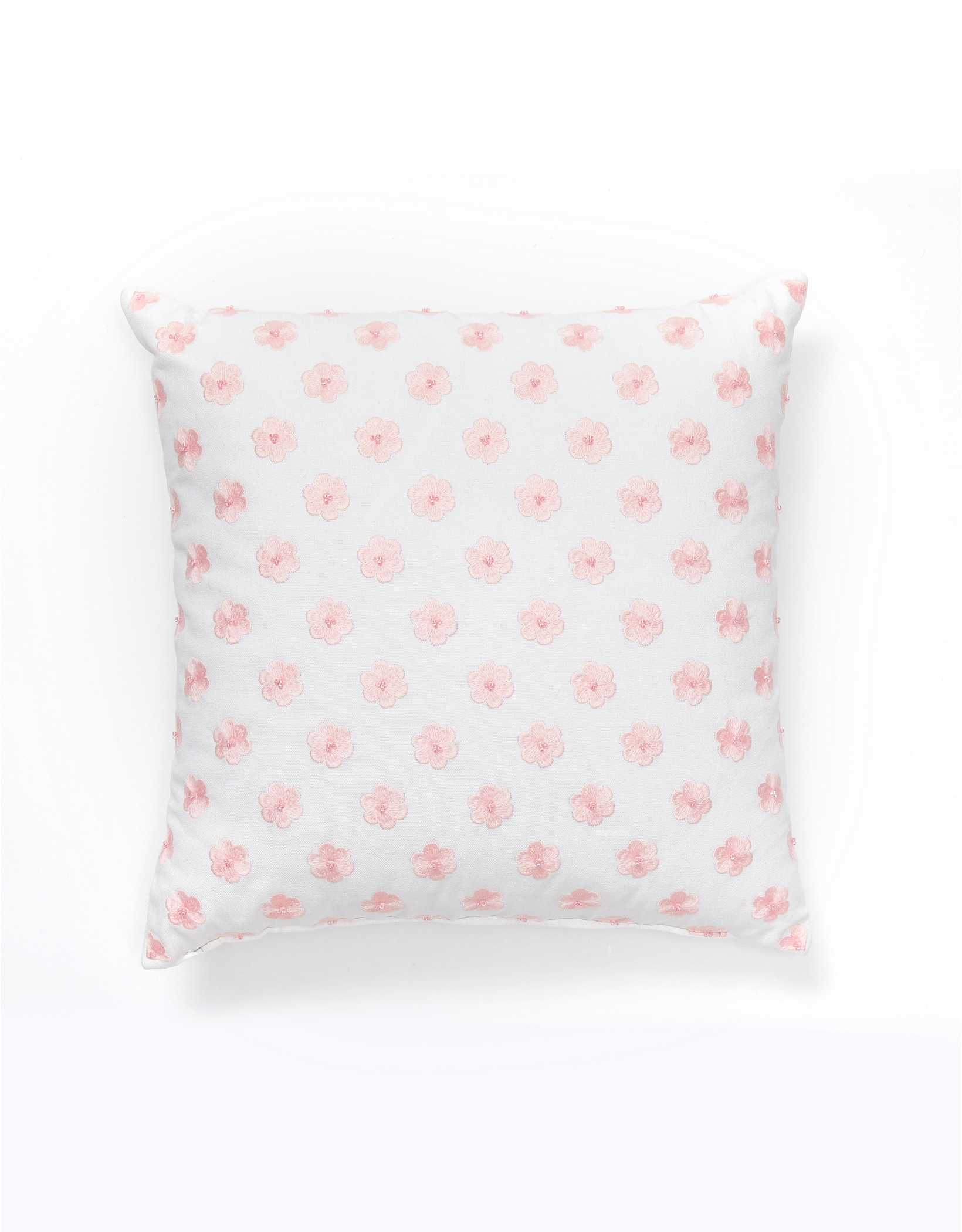 Dormify Embroidered Daisy Pillow