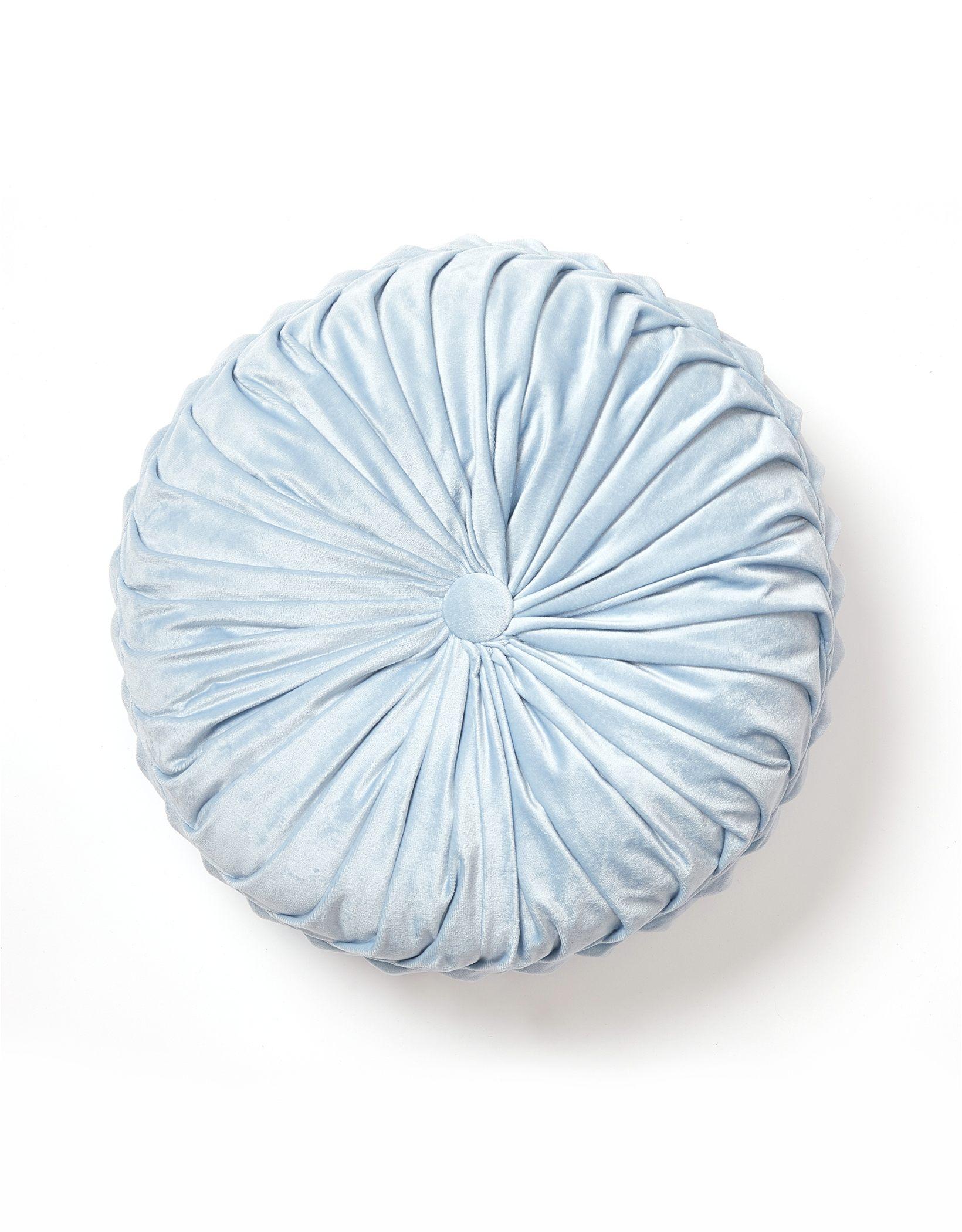 Dormify Velvet Round Pillow