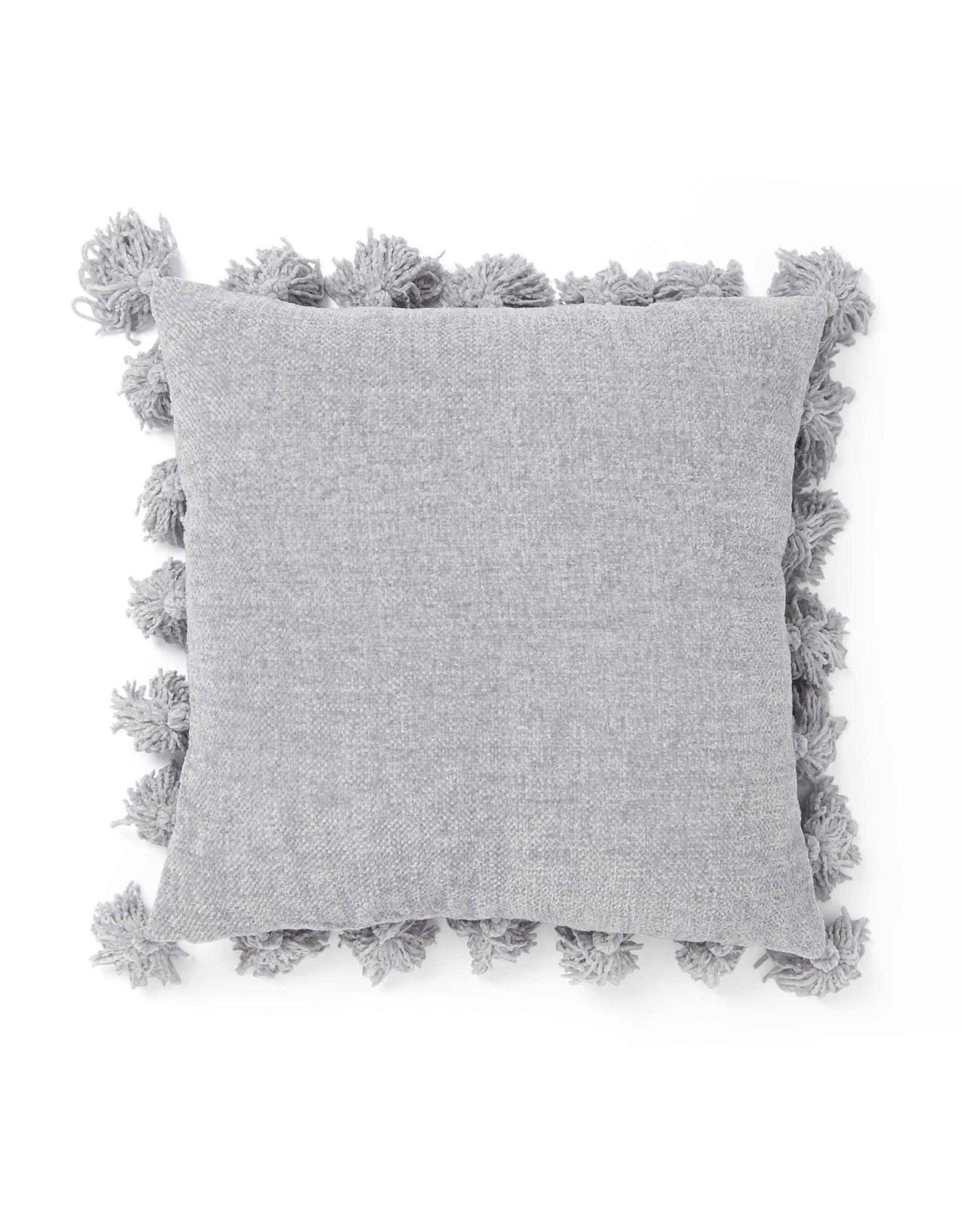 Dormify Chenille Knit Tassel Pillow
