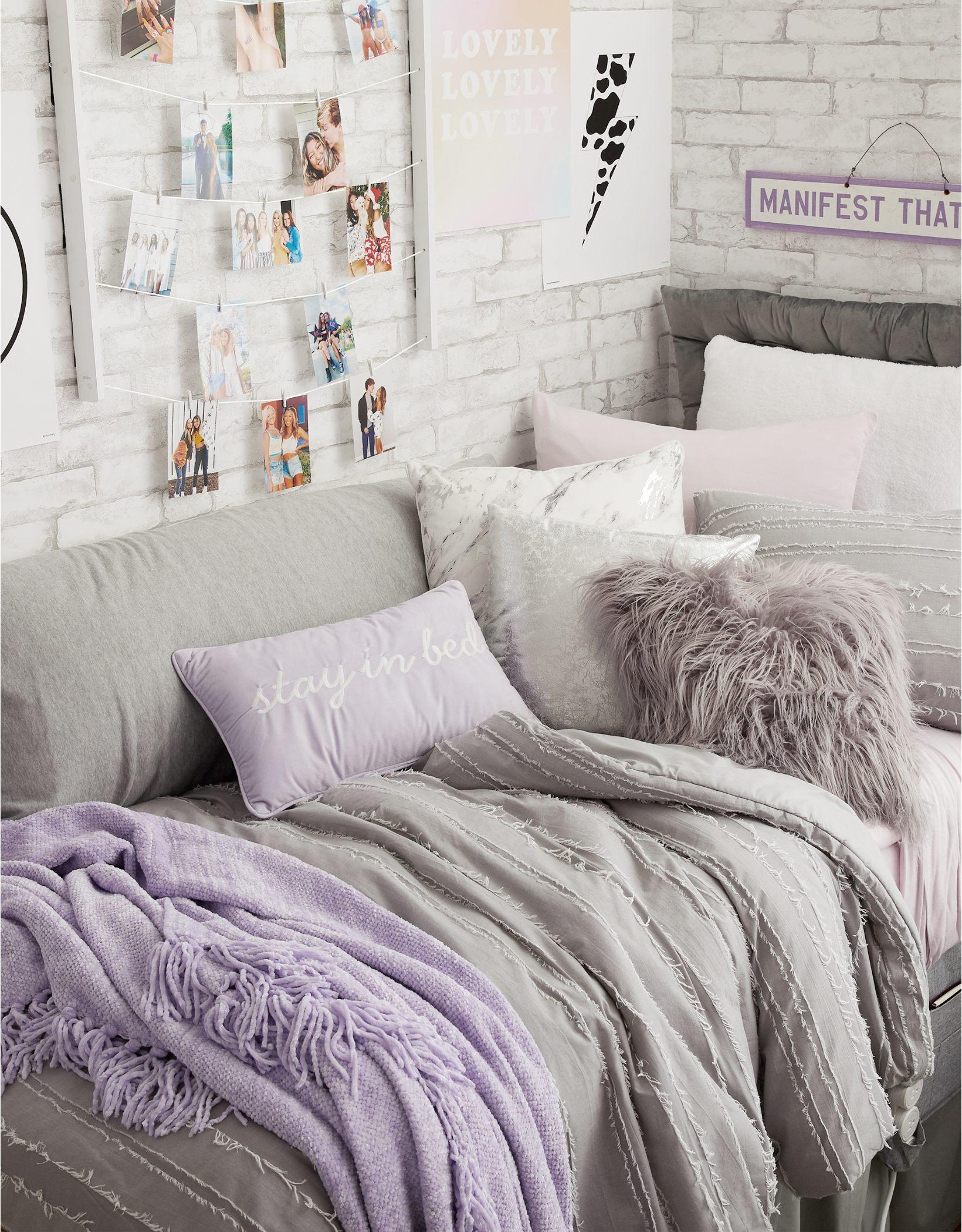 Dormify Eyelash Twin XL Comforter & Sham Set