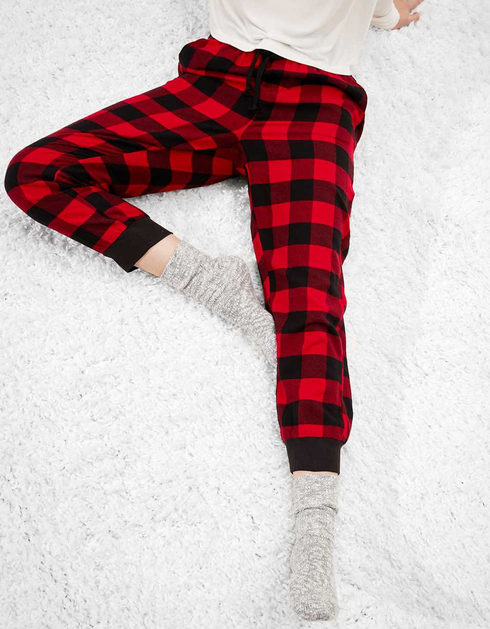 AEO Flannel PJ Jogger Pant