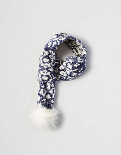 American Beagle Outfitters Pom Pom Scarf -