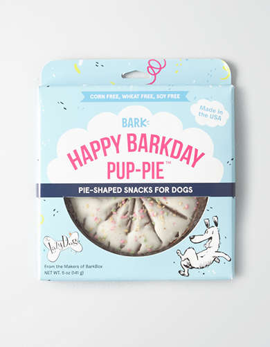 Bark Happy Barkday Pup-Pie Dog Treat -