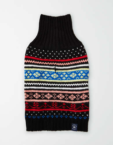 ABO Fairisle Dog Sweater