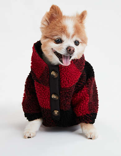 ABO Fleece Dog Sweater