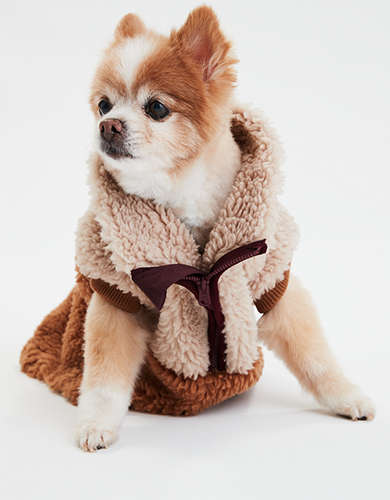 ABO Fleece Color Block Dog Sweater