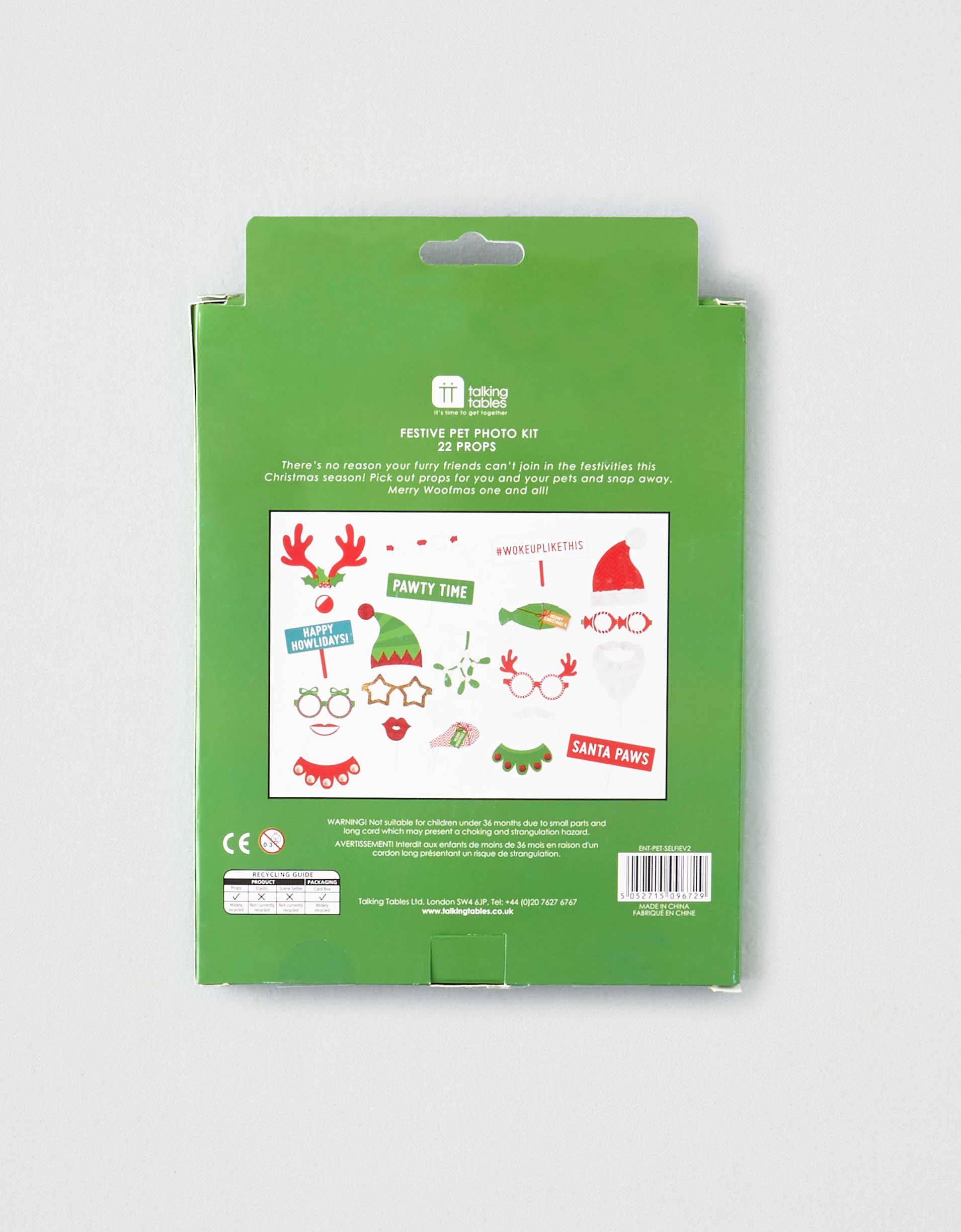 Talking Tables Festive Pet Photo Kit