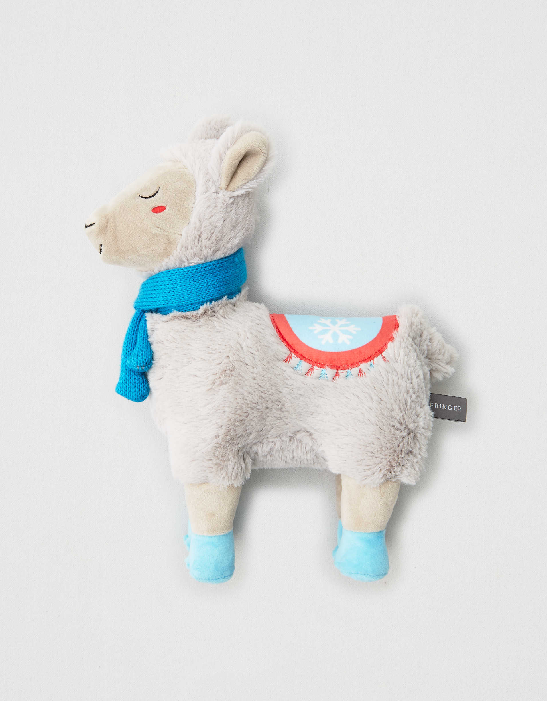 Fringe Ellie It's Cold Outside Llama Dog Toy