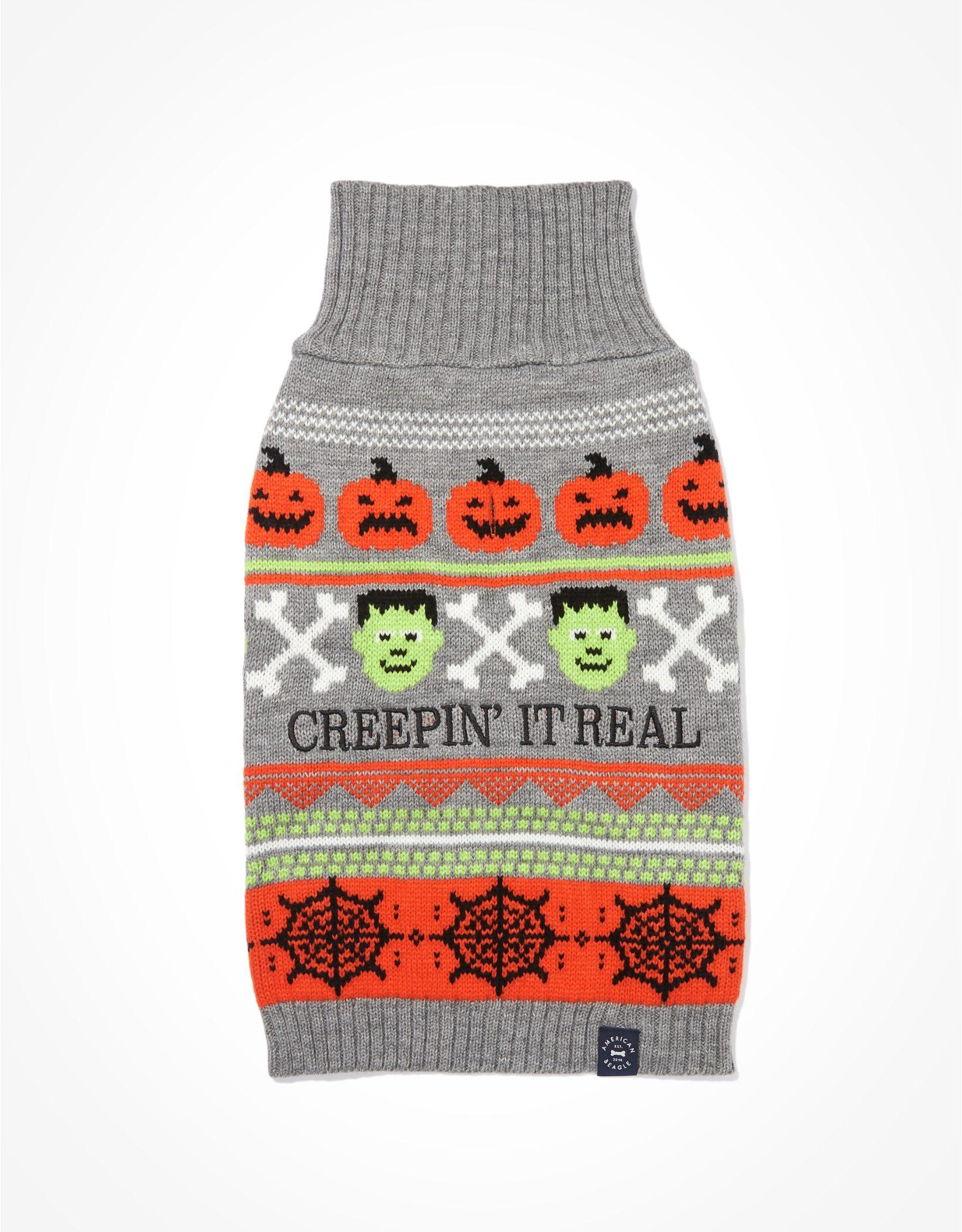 ABO Creepin' It Real Pet Sweater
