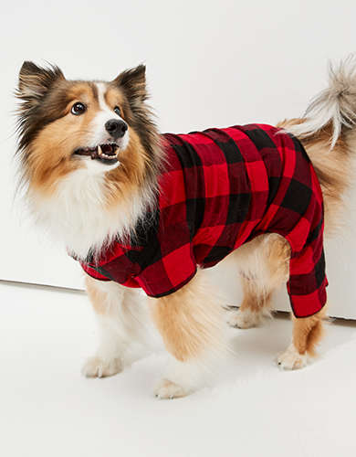 ABO Plaid Doggy PJ