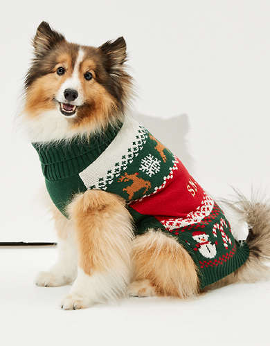 ABO Fairisle Doggy Sweater