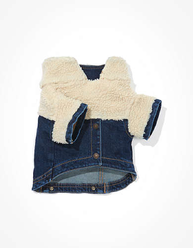 ABO Denim Sherpa Doggy Jacket