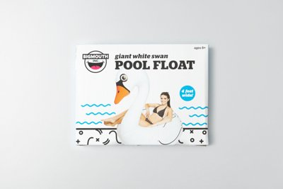 BigMouth Swan Pool Float