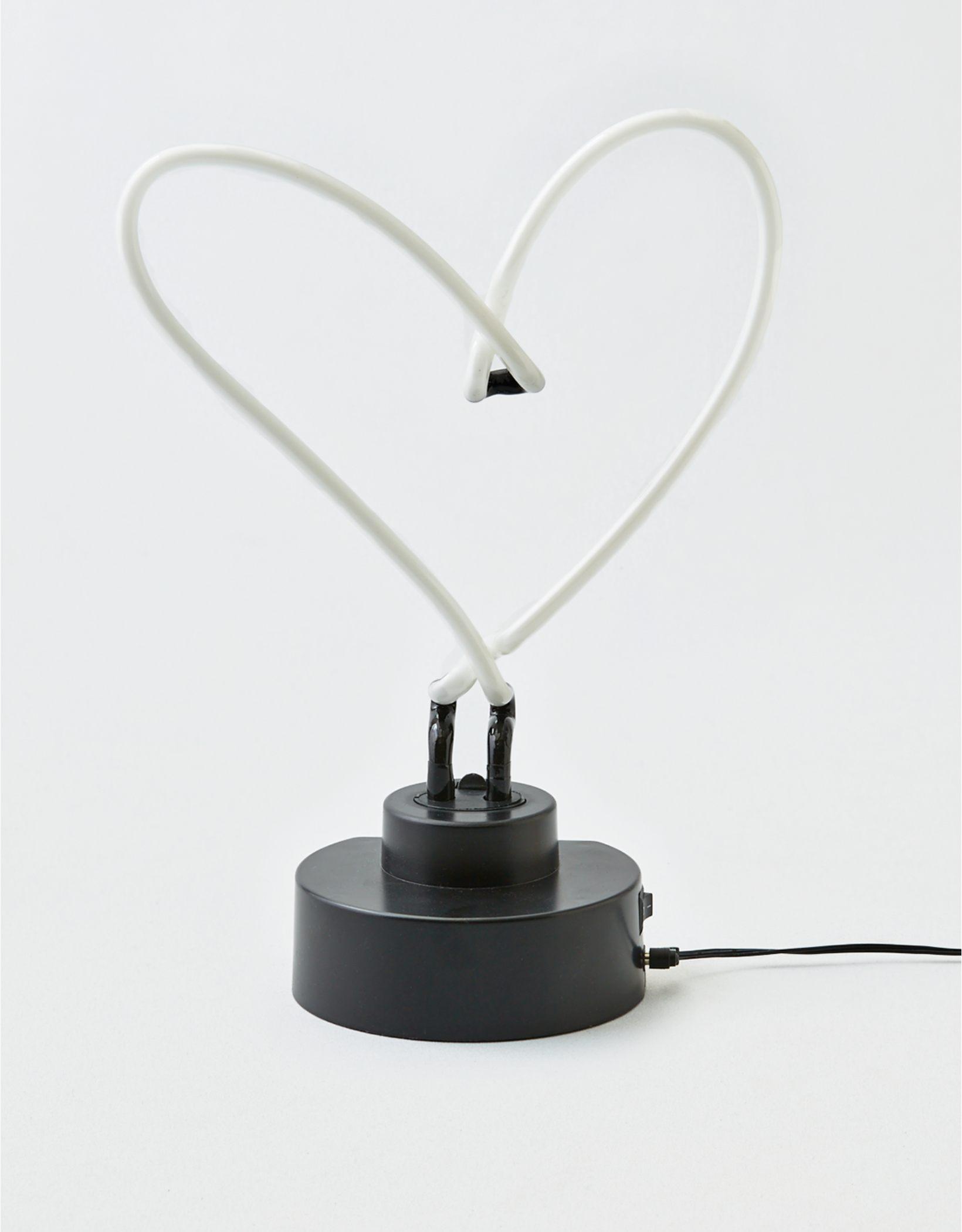 Neon Heart Lamp