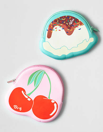 AEO Ice Cream Sundae Wet/Dry Bags -