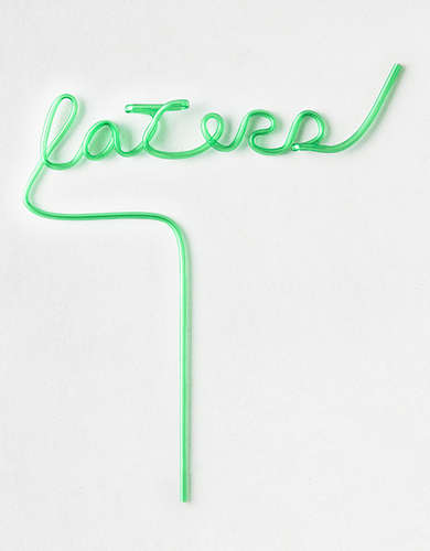 AEO Laters Straw -