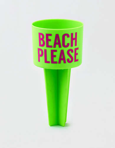 AEO Beach Please Sand Cup Holder -