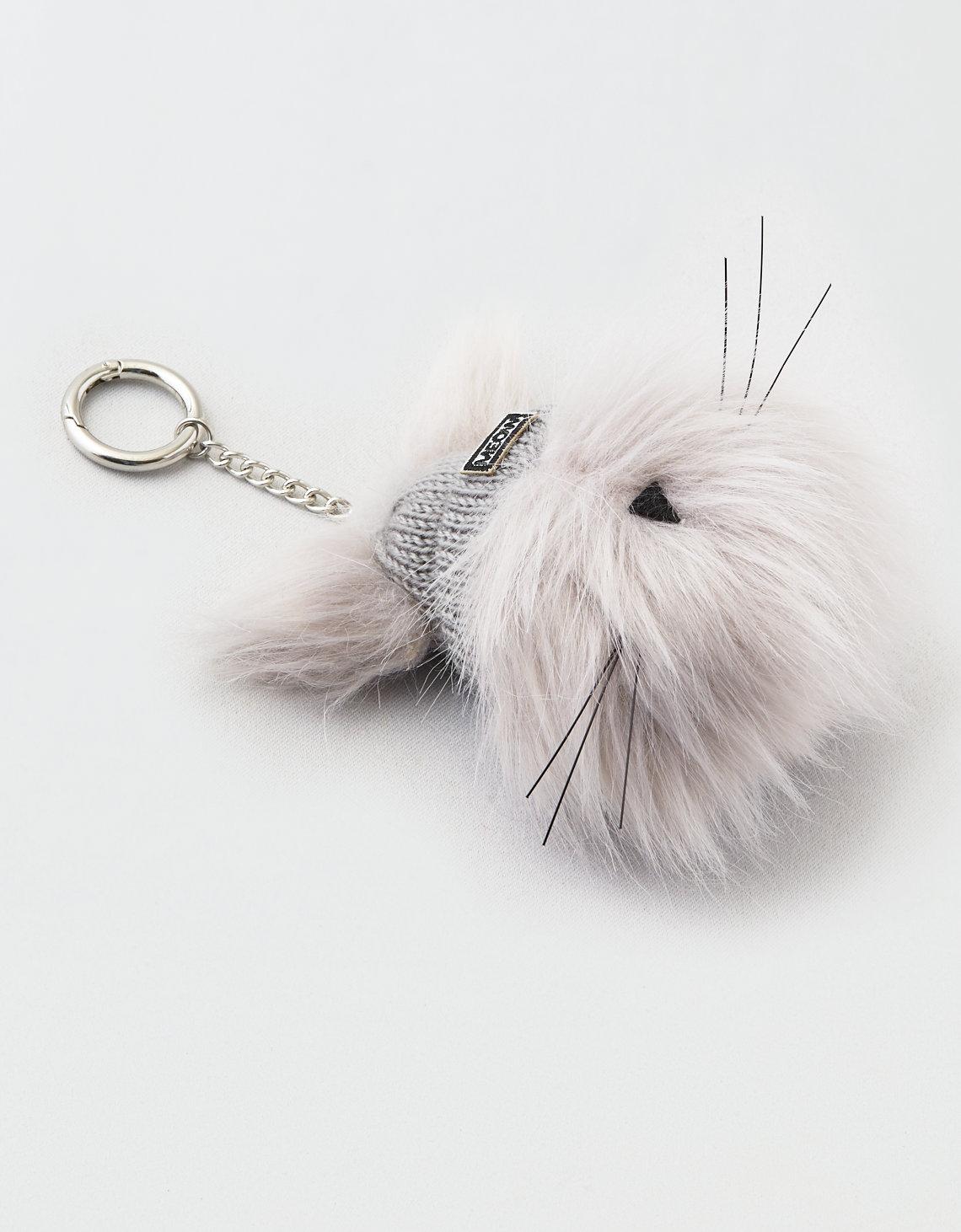 AEO Beanie Cat Keychain | Tuggl