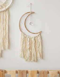 DZI Crescent Moon Dreamcatcher