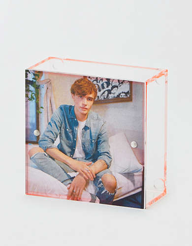 Lund London Neon Me Magnetic Top Photo Box