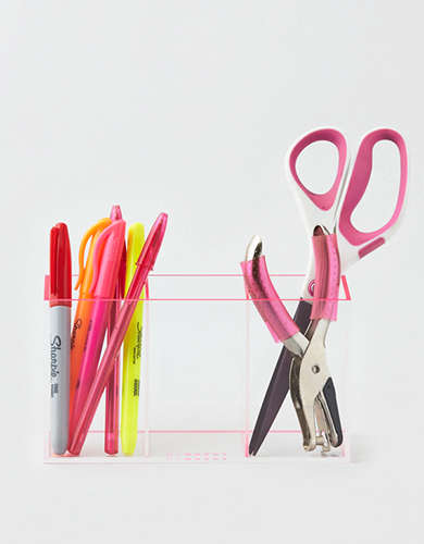Lund London Neon Triple Pen Pot