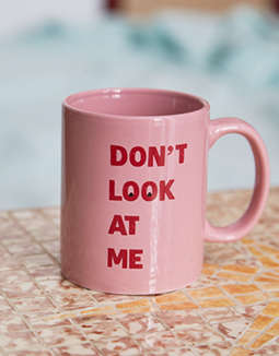 AEO APT Don'T Look At Me Mug