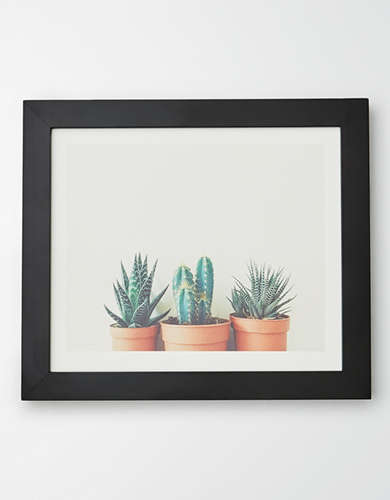 Deny Designs Potted Plants Framed Print -
