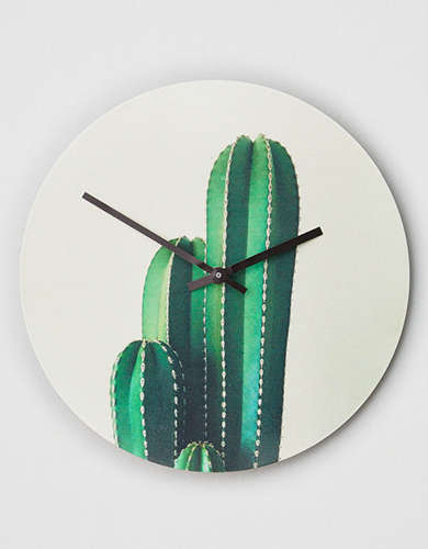 Deny Designs Organ Pipe Cactus Wall Clock -