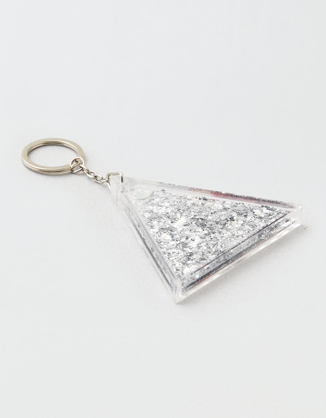 Twelve NYC Glitter Pyramid Keychain 4218a9f2e