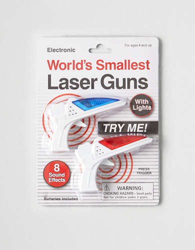 Westminster World's Smallest Laser Guns -