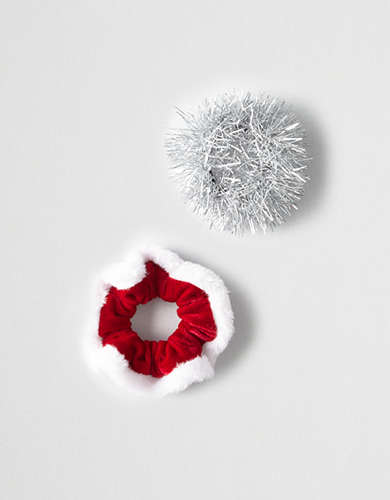 Capelli Holiday Scrunchies -