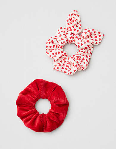 AE Red Scrunchie Pack -