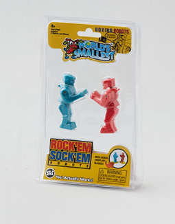 Hasbro World's Smallest Rock'em Sock'em