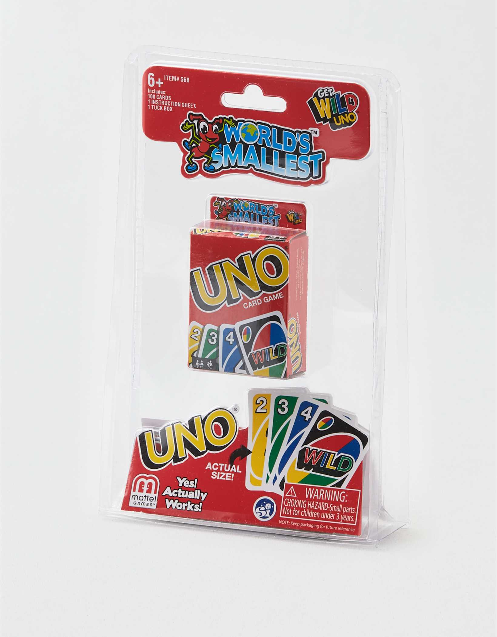 License to Play World's Smallest UNO