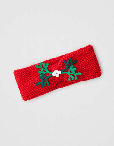 AE Knitted Mistletoe Headband
