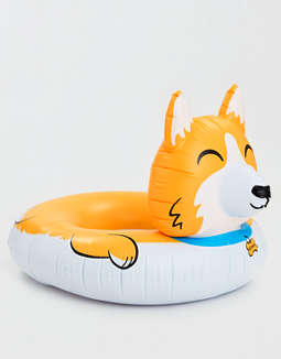 Big Mouth Corgi Pool Float