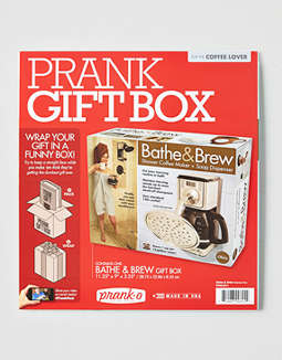 Bathe & Brew Prank Box