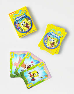 Aquarius SpongeBob SquarePants Playing Cards