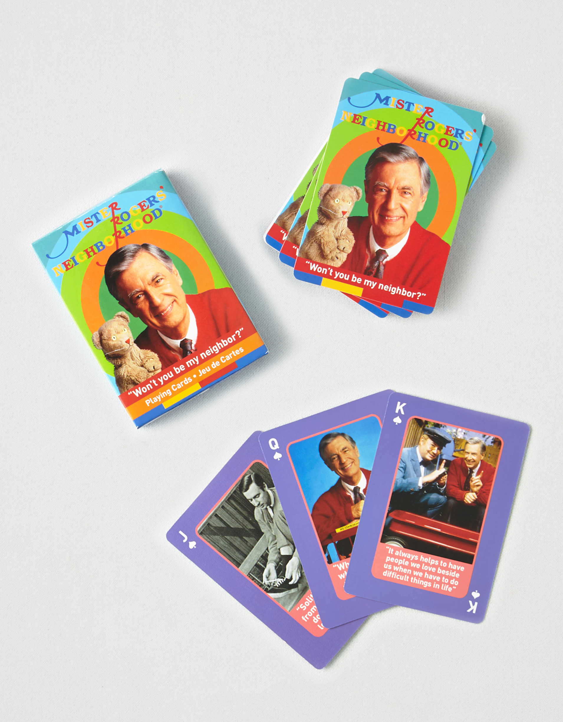 NMR Mr. Rogers Playing Cards