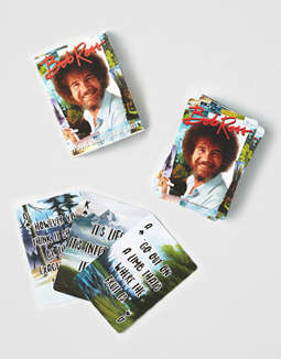 NMR Bob Ross Playing Cards